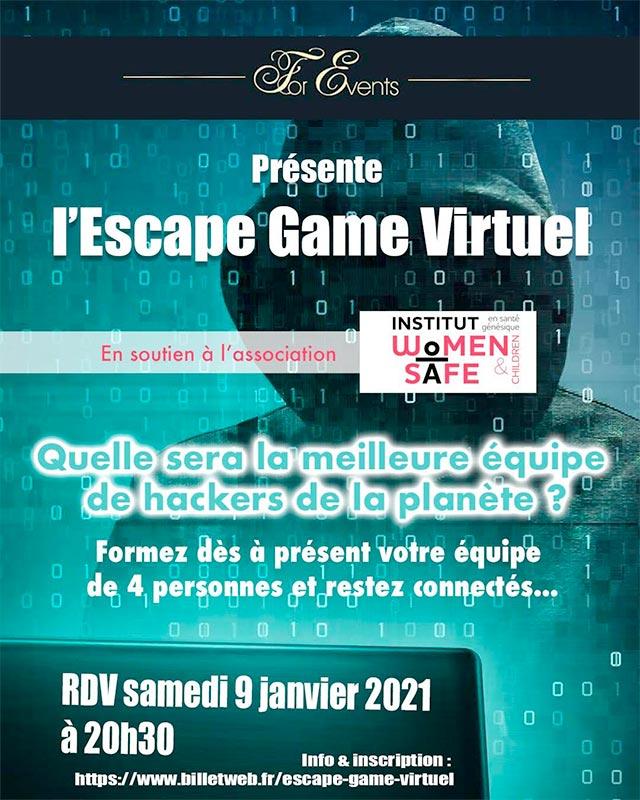 escape game virtuel